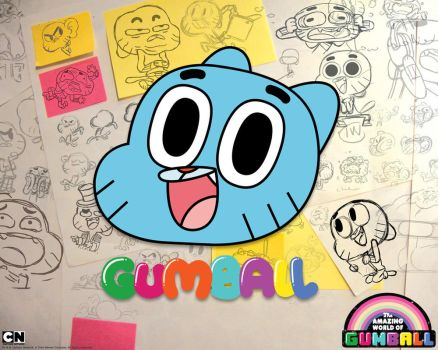 Gumball wallpaper Gumball2 1280x1024 by andre00190