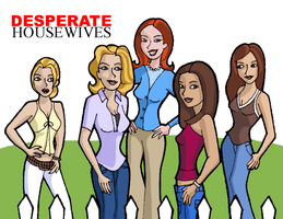desperate housewives by blastedgoose