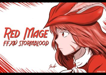 Red Mage by Kxela