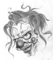 clown by markfellows