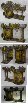 40k new industrial terrain by half-halfling