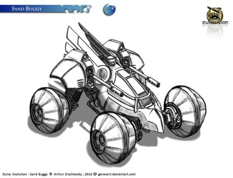Dune: Evolution - Sand Buggy by GeroVort