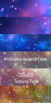 200x600 Textures Pack by sirubisama