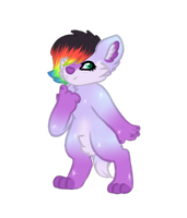 Chibi Anthro Vivian by that-lil-trans-boy