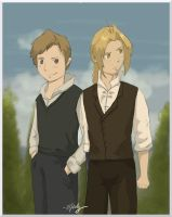 Elric Brothers by IcEKoLd