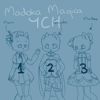 Madoka Magica YCH Auction by AntelopeShortbread