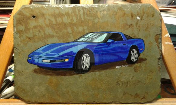 Corvette by PaintSlinger