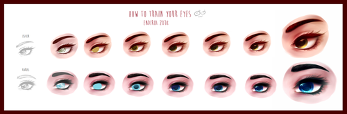 HOW TO TRAIN YOUR EYES 2018 by Endiria