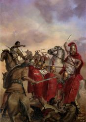 Second Punic war Hannibal in Spain by Nordheimer
