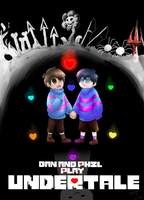 Dan and Phil Play: Undertale by KazariMaple