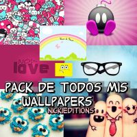 pack de mis wallpapers by nickieditions
