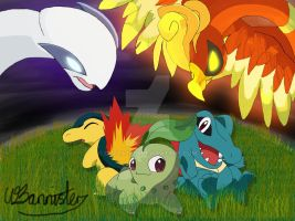 Pokemon Johto by Cazza2010