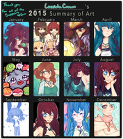 LucciolaCrown  : 2015 : Art Summary by LucciolaCrown