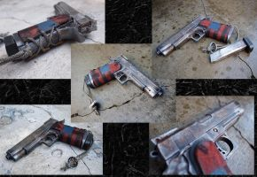 1911 Patriot Post Apocalyptic Version by KillingjarStudios