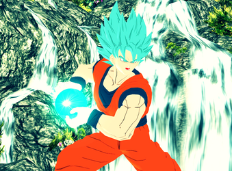 Super Saiyan God Super Saiyan Goku by VIRGIL46
