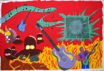 Music Mural, 5th piece by Sunspot01