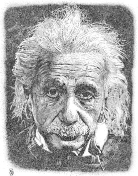 Einstein by maknbacon