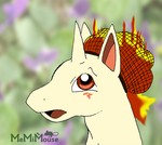 Rapidash in a Hair Net (Doodle) by MeMiMouse