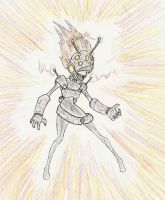 YGO: Scatterbrain by Drawbba-The-Hutt