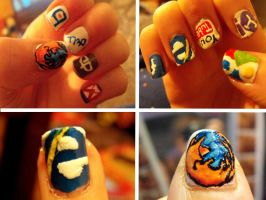 Browser Nails by TheWorldIsLove