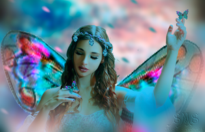 The Butterfly Queen by SilviaMS