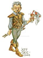 Gnome Rogue-Illusionist by JeffDee