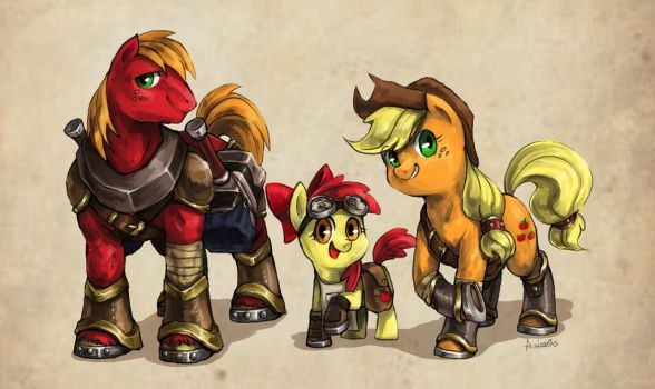 The Apple Smiths by Audrarius