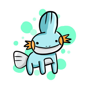 Mudkip by manuee