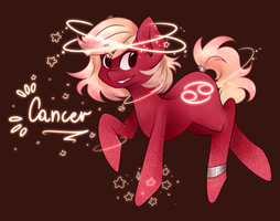 Cancer Zodiac by SaphireCat11