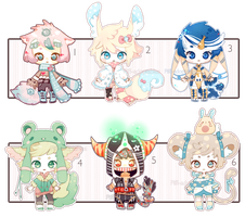 [CLOSED] ADOPT 33 - multiple adopt by Piffi-sisters