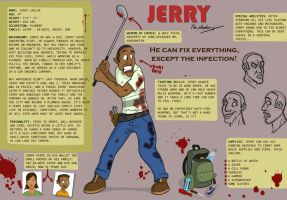 Deviant Dead: Jerry Carlin by Calick