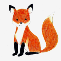 Little Fox by M-Curiosity