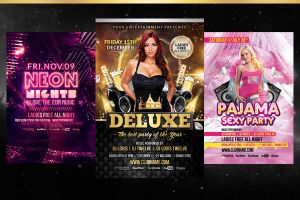 Special Pack #1 - Deluxe New Year + Neon Glow + Pa by LouisTwelve-Design