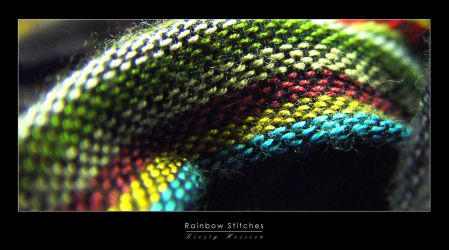 Rainbow Stitches by nibbler-photo