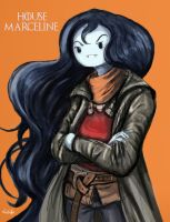 Marceline the Vampire Queen by TheLivingShadow