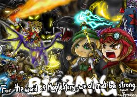 MapleStory BigBang by CPoring