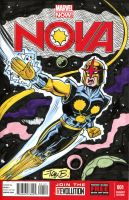 NOVA sketch cover by tombancroft