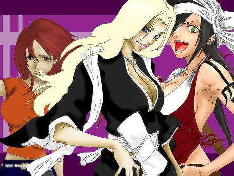 The Bleach Girls by Evalenge