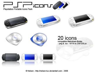 Psp icons by Nelson-Tux