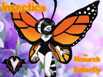 Insectica - The Monarch Butterfly by PlayboyVampire