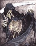 The grim reaper by uncledeath23
