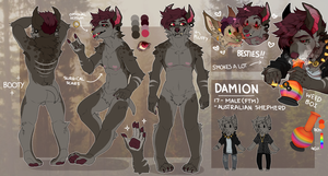 Damian Reference Sheet 2017 by BlockGEM