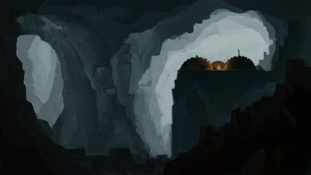 Caverns by TheMoub