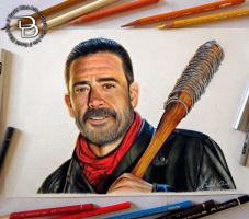 Negan - The Walking Dead by Daviddiaspr