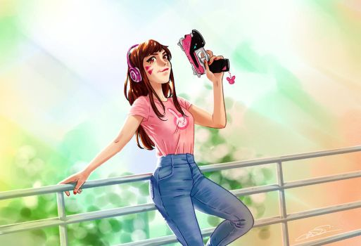 Casual D.va by taitsujin