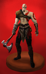 Kratos Nordico / Nordic Kratos by thesteelmancg