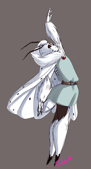 Dancing moth by Sofua