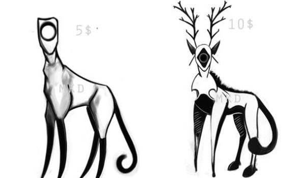 new Adopts species (  THE UNKNOWN) by FireBrandWolf777