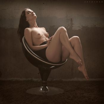 Space Chair by ArtofdanPhotography