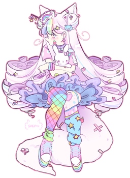 Rainbow Pastel : Commission by Shepiu